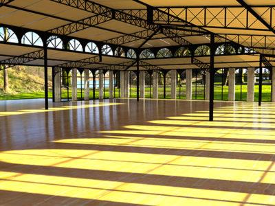 Construire Une Salle De Reception Les Ateliers De Lattre Structure Ephemere